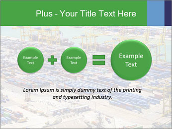 Huge Port PowerPoint Template - Slide 75