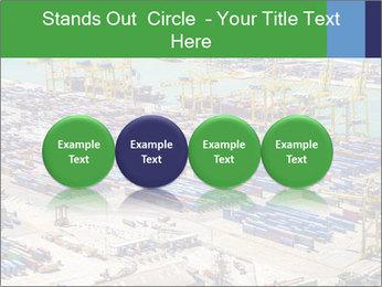 Huge Port PowerPoint Template - Slide 76
