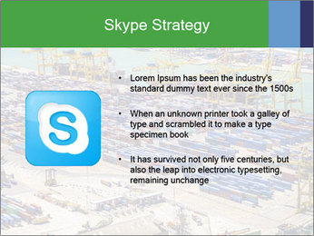 Huge Port PowerPoint Template - Slide 8