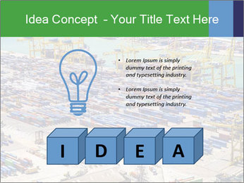 Huge Port PowerPoint Template - Slide 80