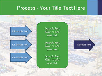 Huge Port PowerPoint Template - Slide 85