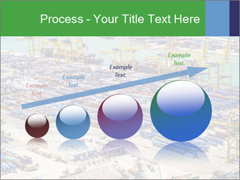 Huge Port PowerPoint Template - Slide 87