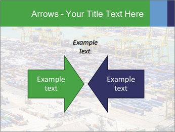 Huge Port PowerPoint Template - Slide 90