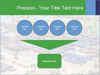 Huge Port PowerPoint Template - Slide 93