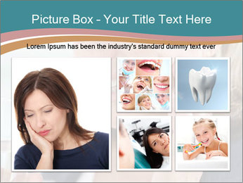Woman With Dental Issue PowerPoint Templates - Slide 19
