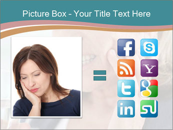 Woman With Dental Issue PowerPoint Template - Slide 21