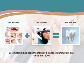 Woman With Dental Issue PowerPoint Templates - Slide 22