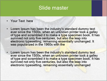 Slide On Banana Peel PowerPoint Template - Slide 2
