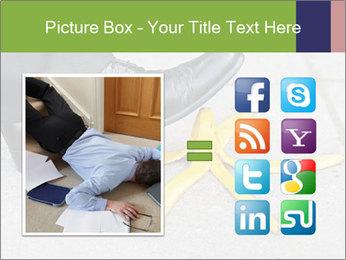 Slide On Banana Peel PowerPoint Template - Slide 21