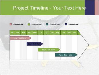 Slide On Banana Peel PowerPoint Template - Slide 25