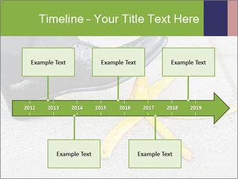 Slide On Banana Peel PowerPoint Template - Slide 28