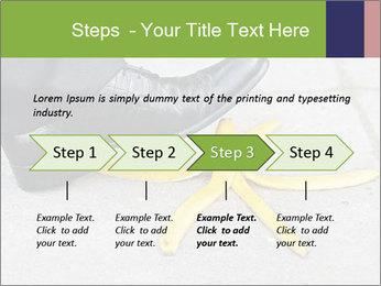 Slide On Banana Peel PowerPoint Template - Slide 4