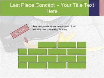 Slide On Banana Peel PowerPoint Template - Slide 46
