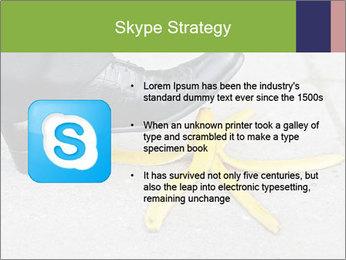 Slide On Banana Peel PowerPoint Template - Slide 8