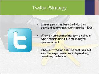 Slide On Banana Peel PowerPoint Template - Slide 9