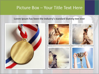 Two Trophies PowerPoint Template - Slide 19