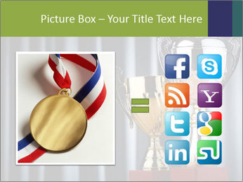 Two Trophies PowerPoint Template - Slide 21