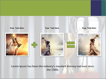Two Trophies PowerPoint Template - Slide 22