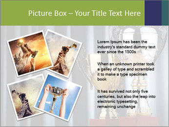 Two Trophies PowerPoint Template - Slide 23