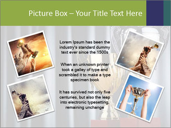 Two Trophies PowerPoint Template - Slide 24