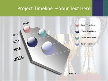 Two Trophies PowerPoint Template - Slide 26