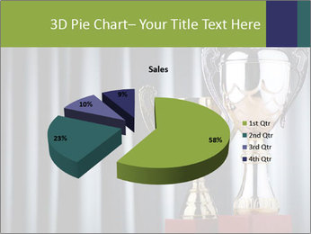 Two Trophies PowerPoint Template - Slide 35