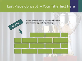 Two Trophies PowerPoint Template - Slide 46