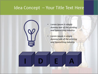 Two Trophies PowerPoint Template - Slide 80