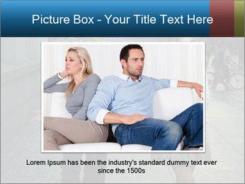 Couple Argue PowerPoint Templates - Slide 15