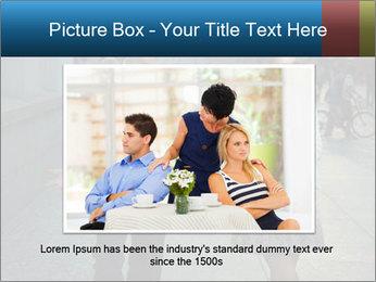 Couple Argue PowerPoint Template - Slide 16