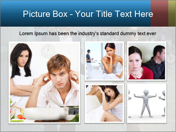 Couple Argue PowerPoint Template - Slide 19