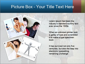 Couple Argue PowerPoint Template - Slide 23