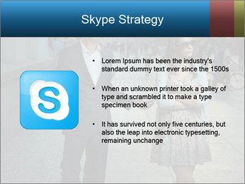 Couple Argue PowerPoint Templates - Slide 8