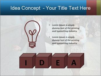 Couple Argue PowerPoint Template - Slide 80