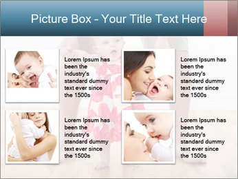 Father With Baby Girl PowerPoint Template - Slide 14