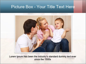 Father With Baby Girl PowerPoint Template - Slide 16