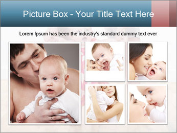 Father With Baby Girl PowerPoint Template - Slide 19