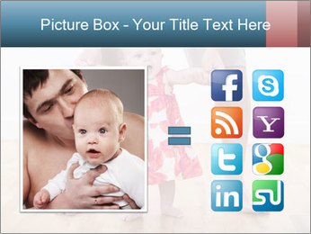 Father With Baby Girl PowerPoint Template - Slide 21