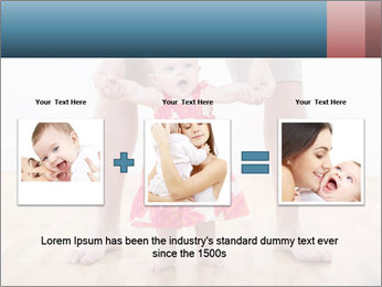 Father With Baby Girl PowerPoint Template - Slide 22