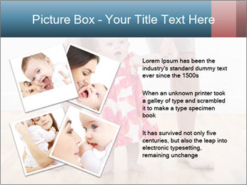 Father With Baby Girl PowerPoint Template - Slide 23