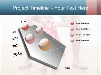 Father With Baby Girl PowerPoint Template - Slide 26