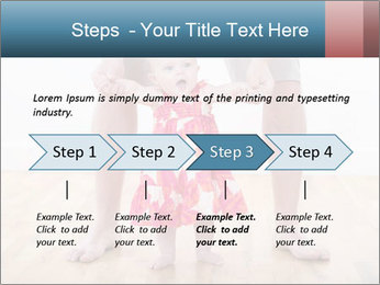 Father With Baby Girl PowerPoint Templates - Slide 4