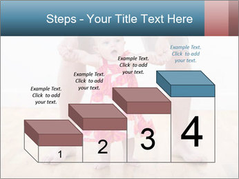 Father With Baby Girl PowerPoint Template - Slide 64