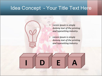 Father With Baby Girl PowerPoint Template - Slide 80