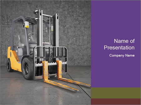 Lifter Machine PowerPoint Templates