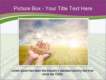 Green Field Till Horizon PowerPoint Template - Slide 16