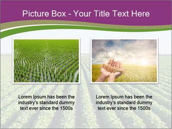 Green Field Till Horizon PowerPoint Template - Slide 18