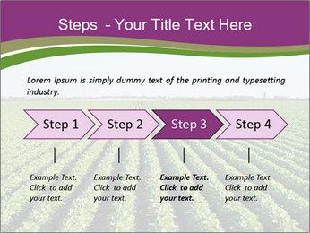Green Field Till Horizon PowerPoint Template - Slide 4