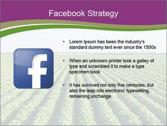 Green Field Till Horizon PowerPoint Template - Slide 6