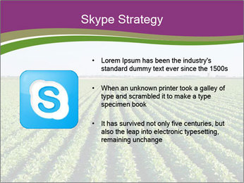 Green Field Till Horizon PowerPoint Template - Slide 8